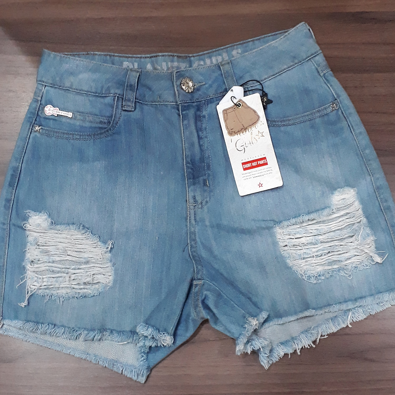 325232272 Mulher  Short Jeans Planet Girls